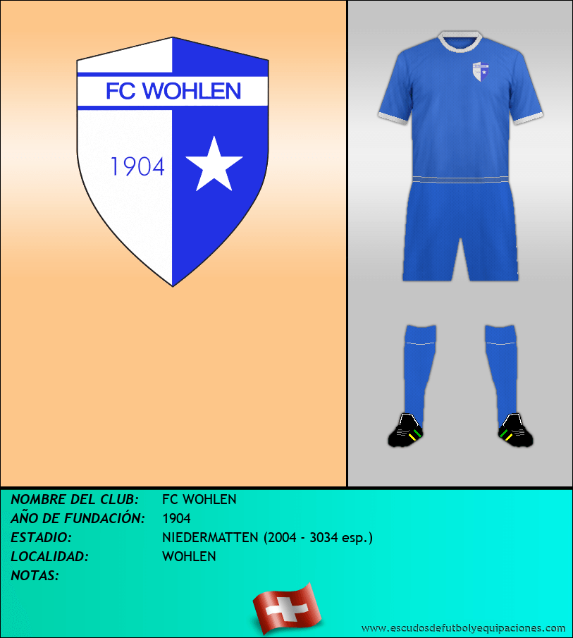 Escudo de FC WOHLEN
