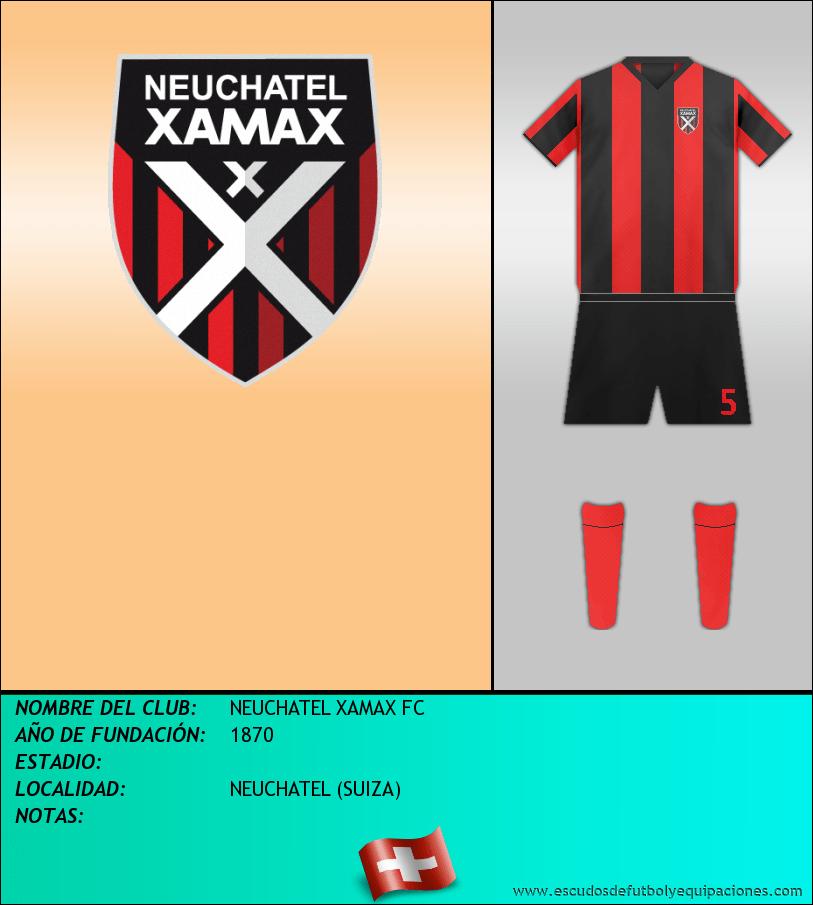 Escudo de NEUCHATEL XAMAX FC
