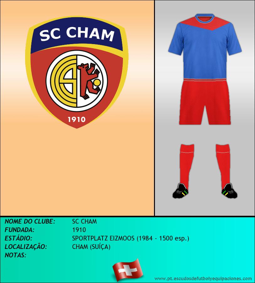 Escudo de SC CHAM