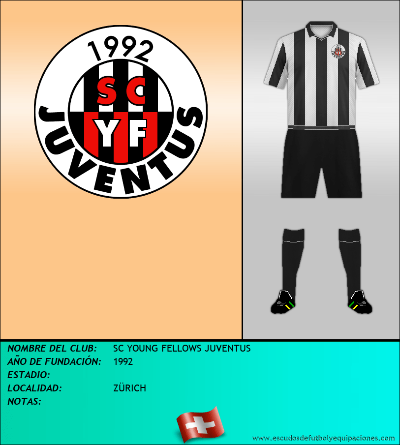 Escudo de SC YOUNG FELLOWS JUVENTUS