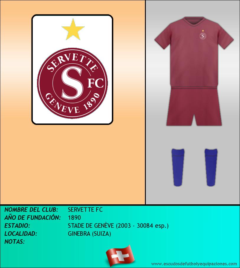 Escudo de SERVETTE FC