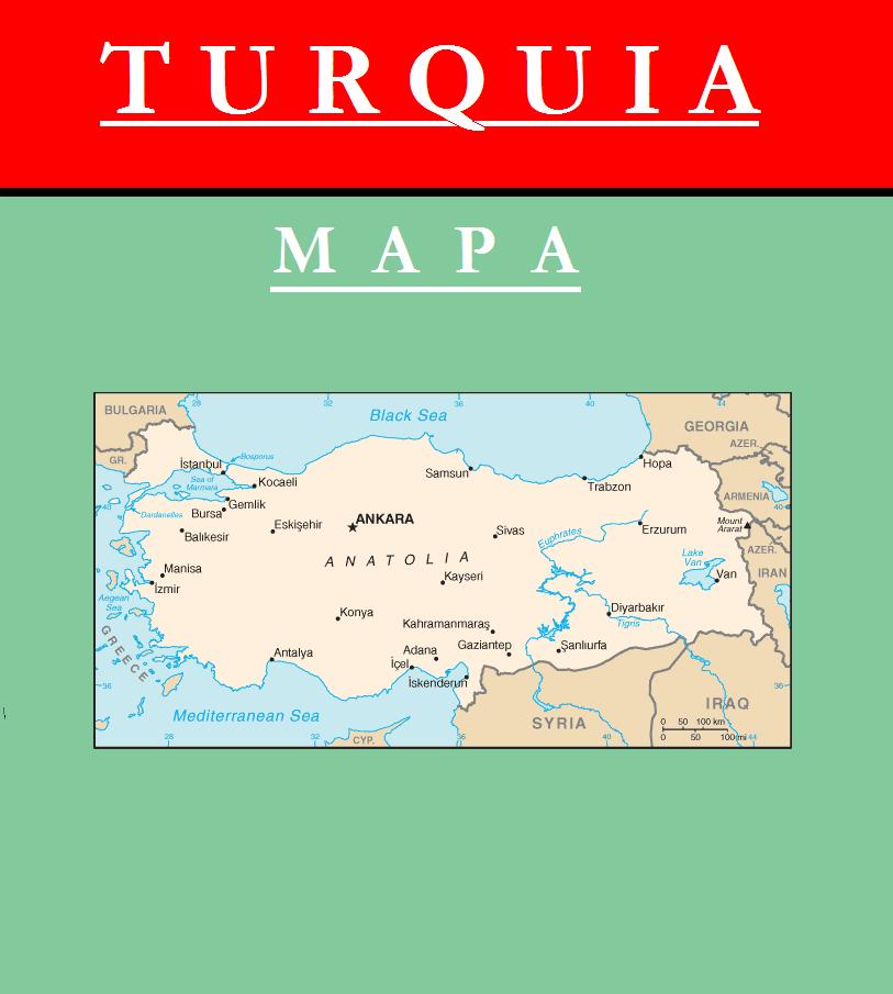 Escudo de MAPA DE TURQUÍA