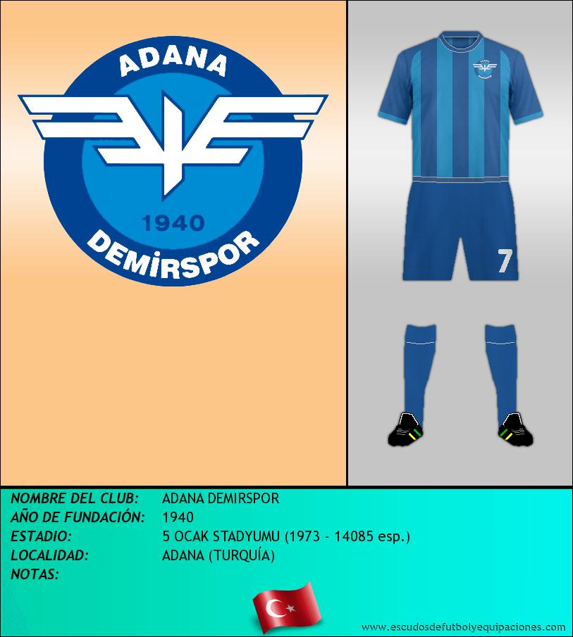 Escudo de ADANA DEMIRSPOR