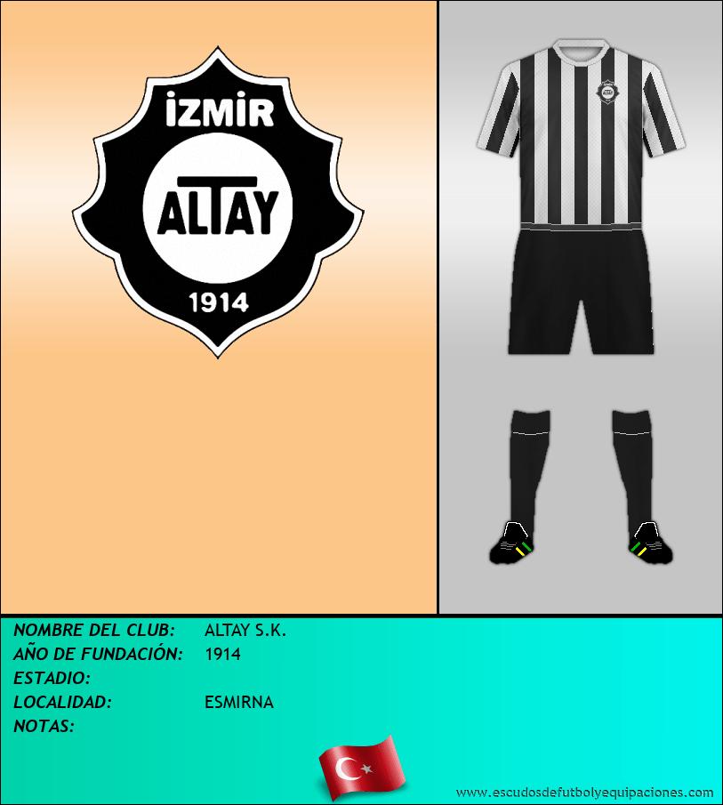 Escudo de ALTAY S.K.