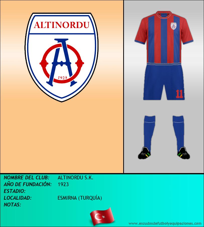Escudo de ALTINORDU S.K.