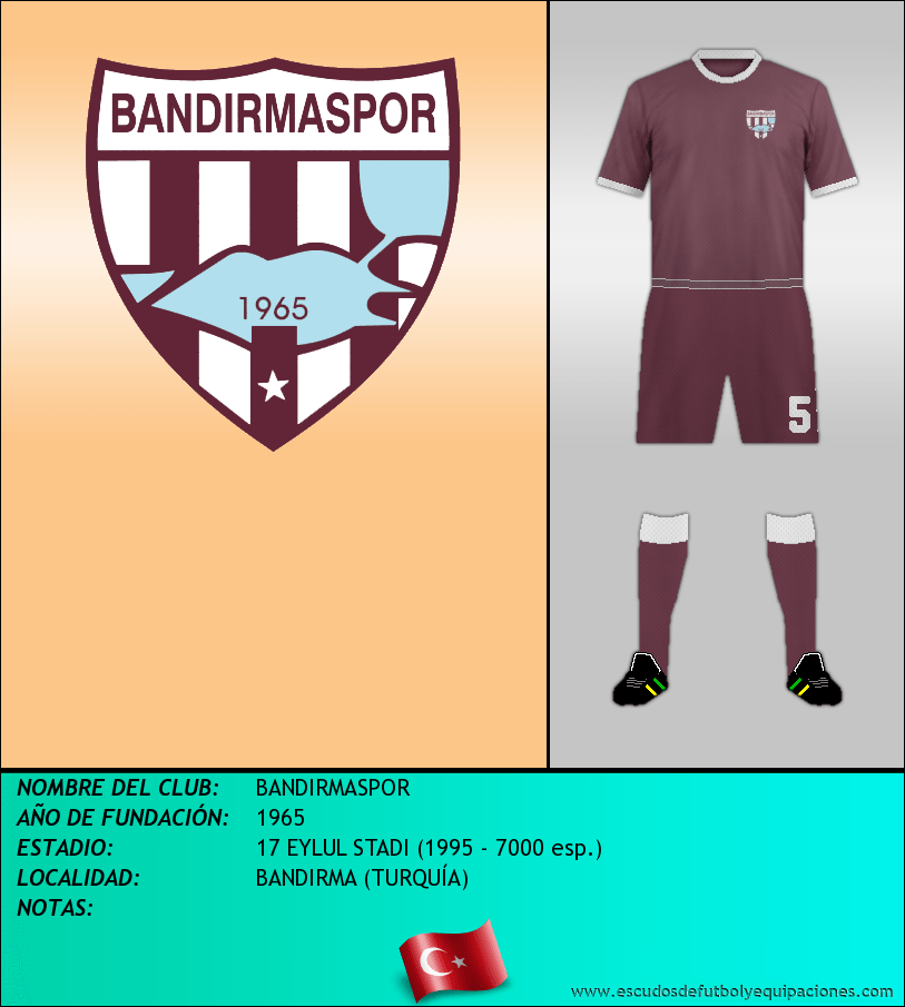 Escudo de BANDIRMASPOR