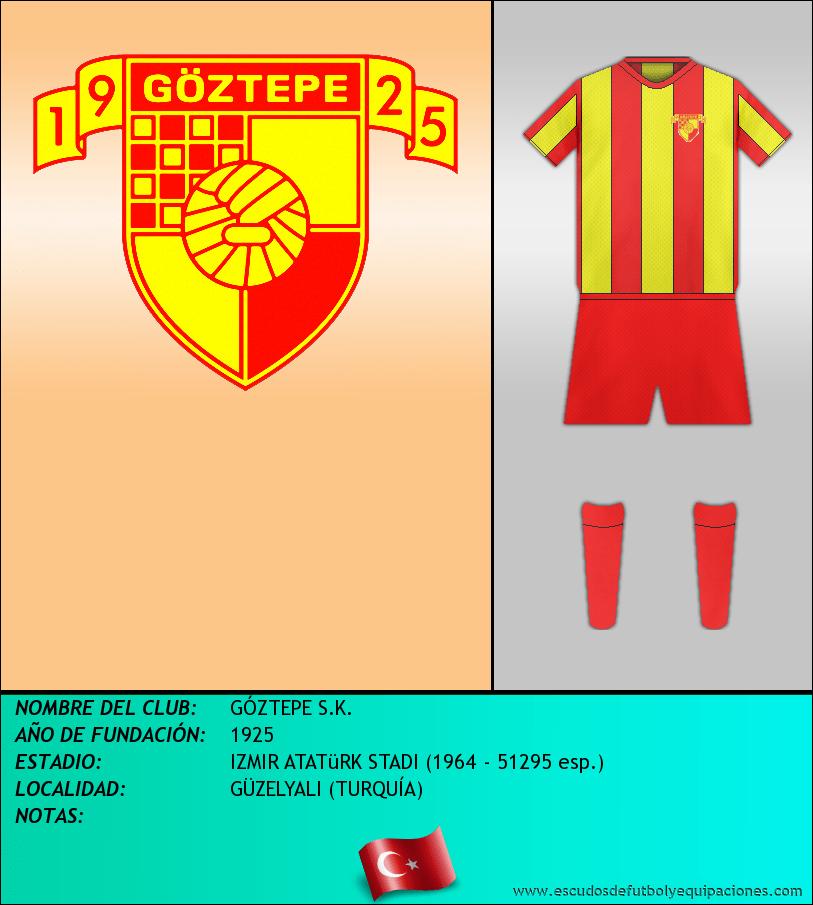 Escudo de GÓZTEPE S.K.