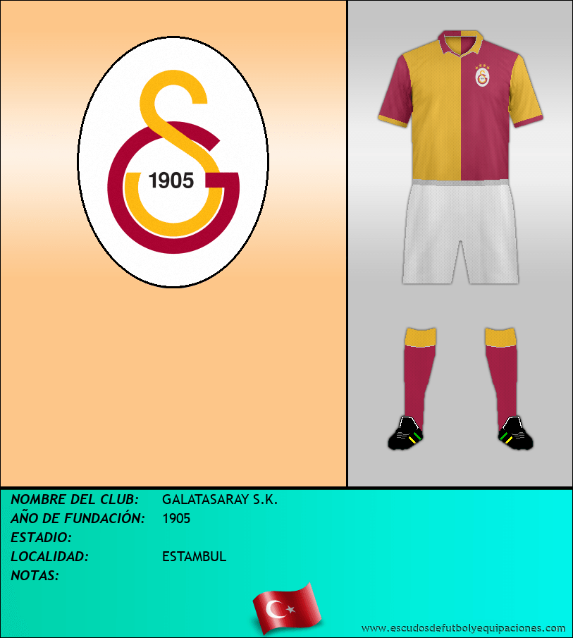 Escudo de GALATASARAY S.K.