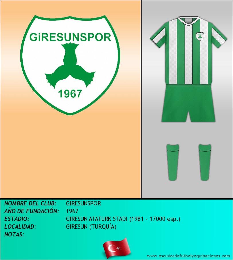 Escudo de GIRESUNSPOR