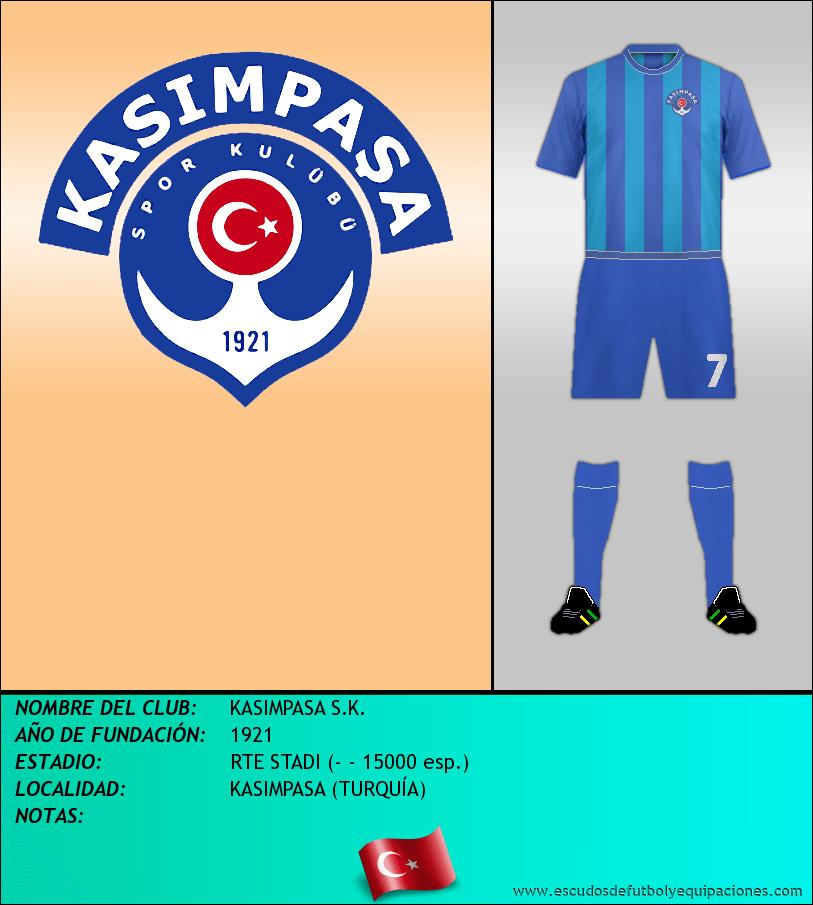 Escudo de KASIMPASA S.K.