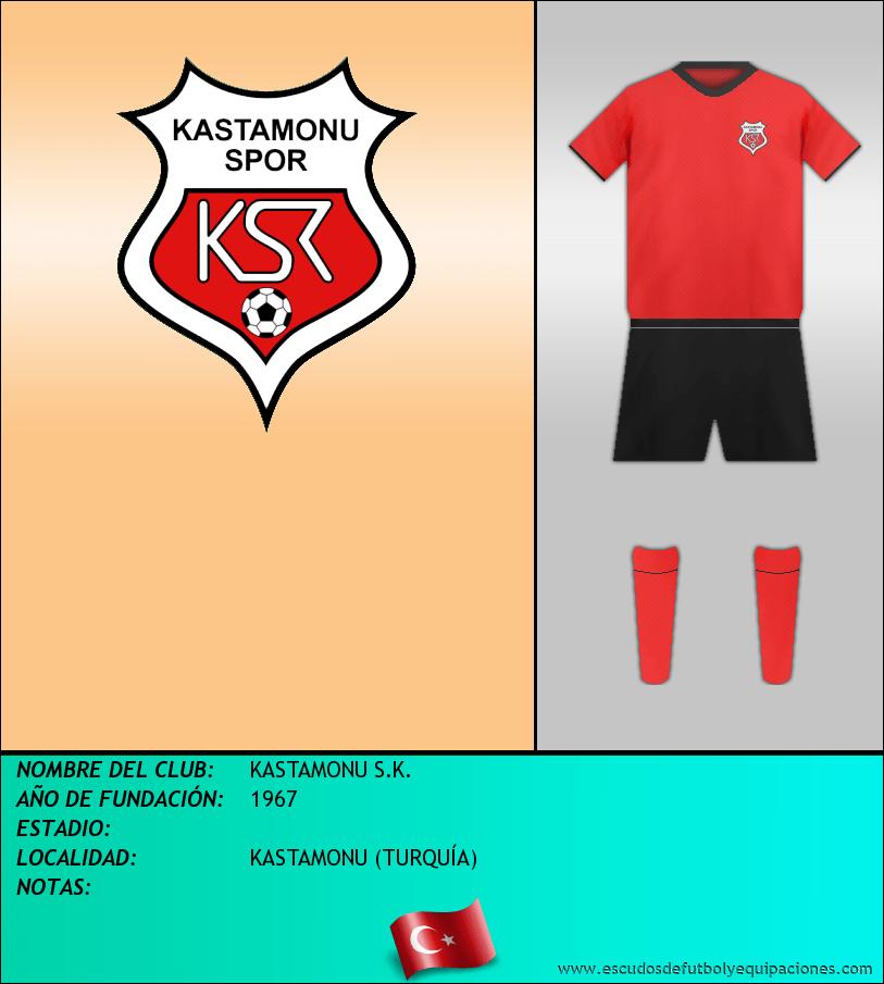 Escudo de KASTAMONU S.K.