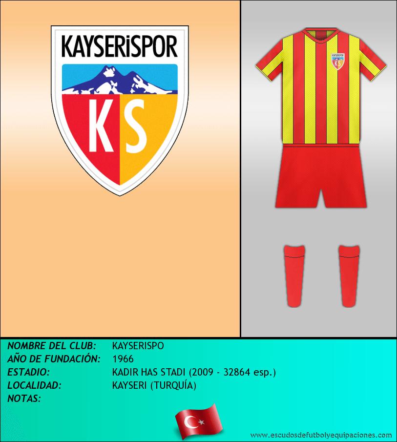 Escudo de KAYSERISPO