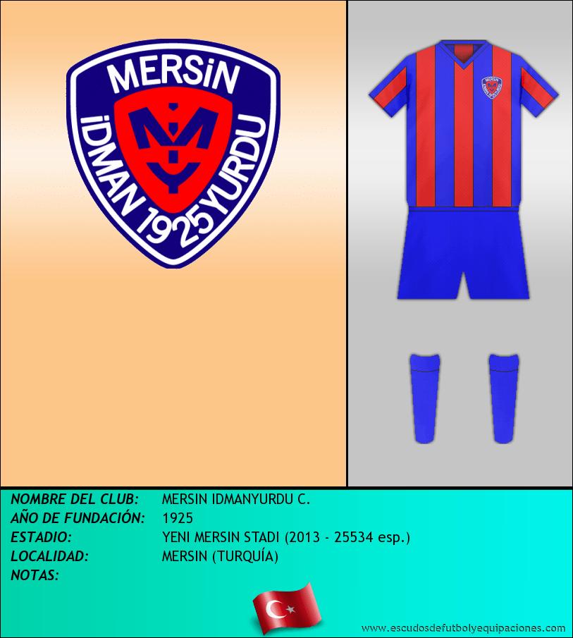 Escudo de MERSIN IDMANYURDU C.
