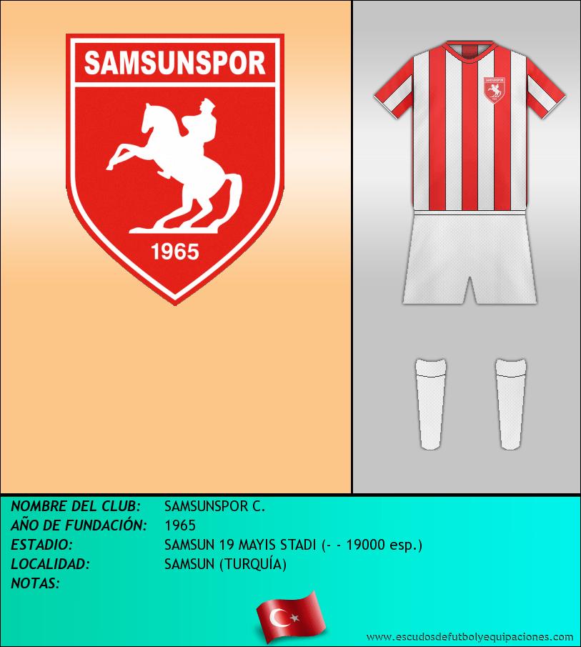 Escudo de SAMSUNSPOR C.