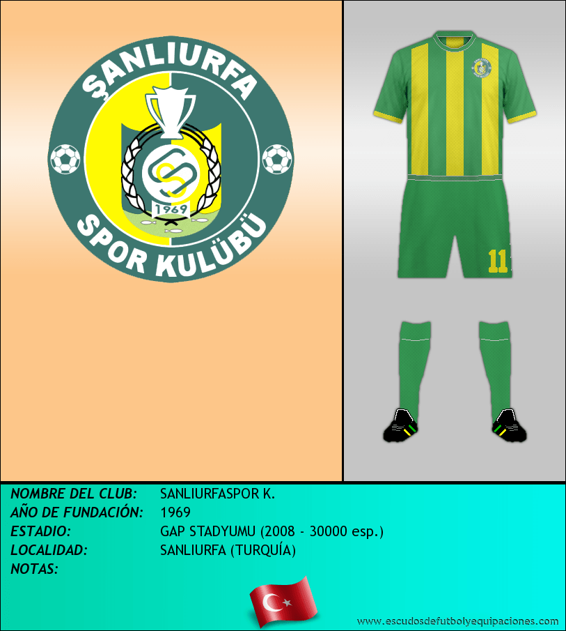 Escudo de SANLIURFASPOR K.