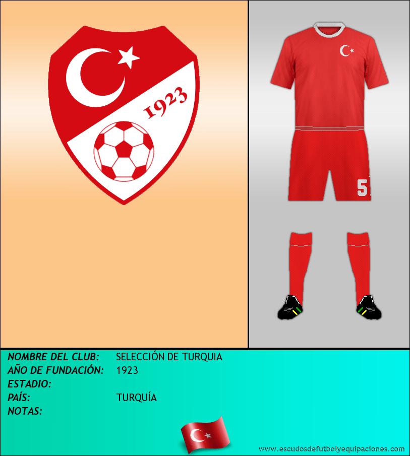 Escudo de SELECCIÓN DE TURQUIA