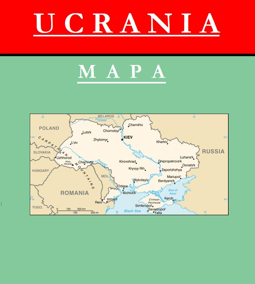 Escudo de MAPA DE UCRANIA