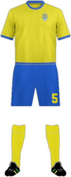 Equipación FC TERNOPIL