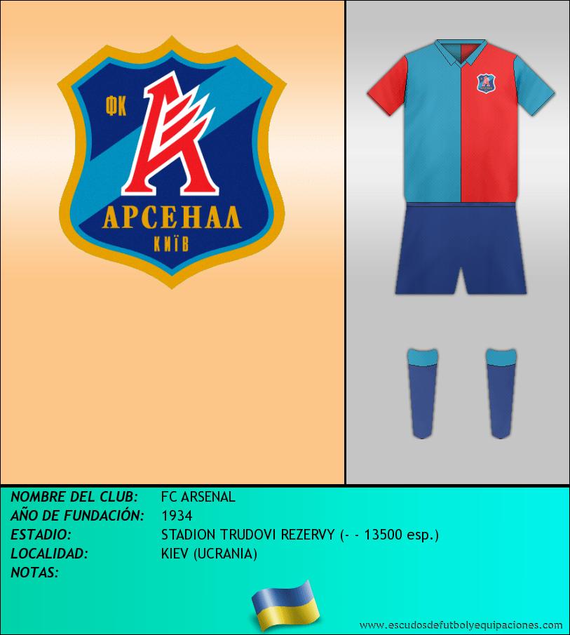 Escudo de FC ARSENAL