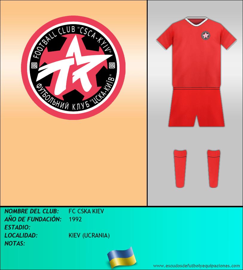 Escudo de FC CSKA KIEV