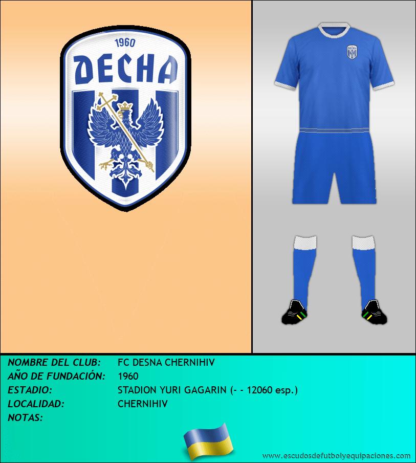 Escudo de FC DESNA CHERNIHIV