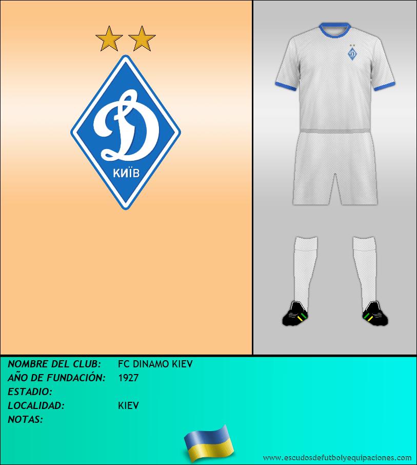 Escudo de FC DINAMO KIEV