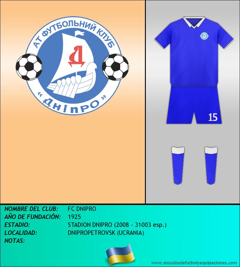 Escudo de FC DNIPRO