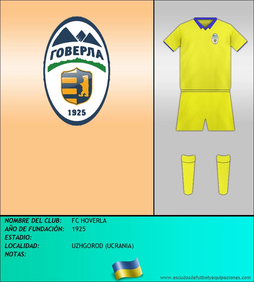 Escudo de FC HOVERLA