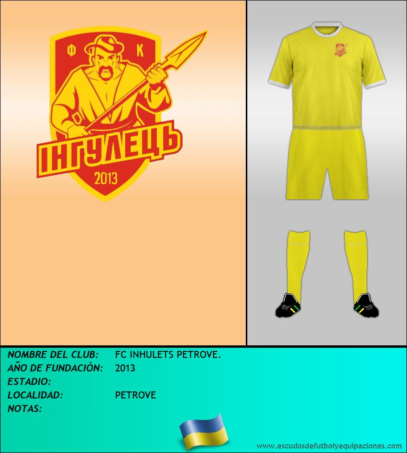 Escudo de FC INHULETS PETROVE.
