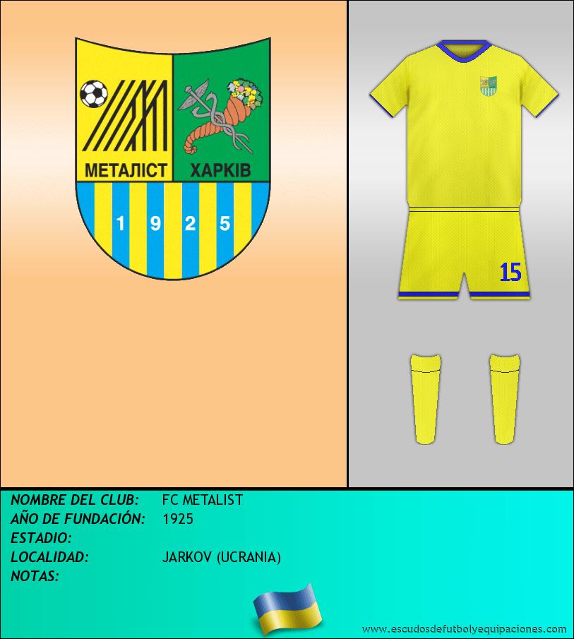 Escudo de FC METALIST