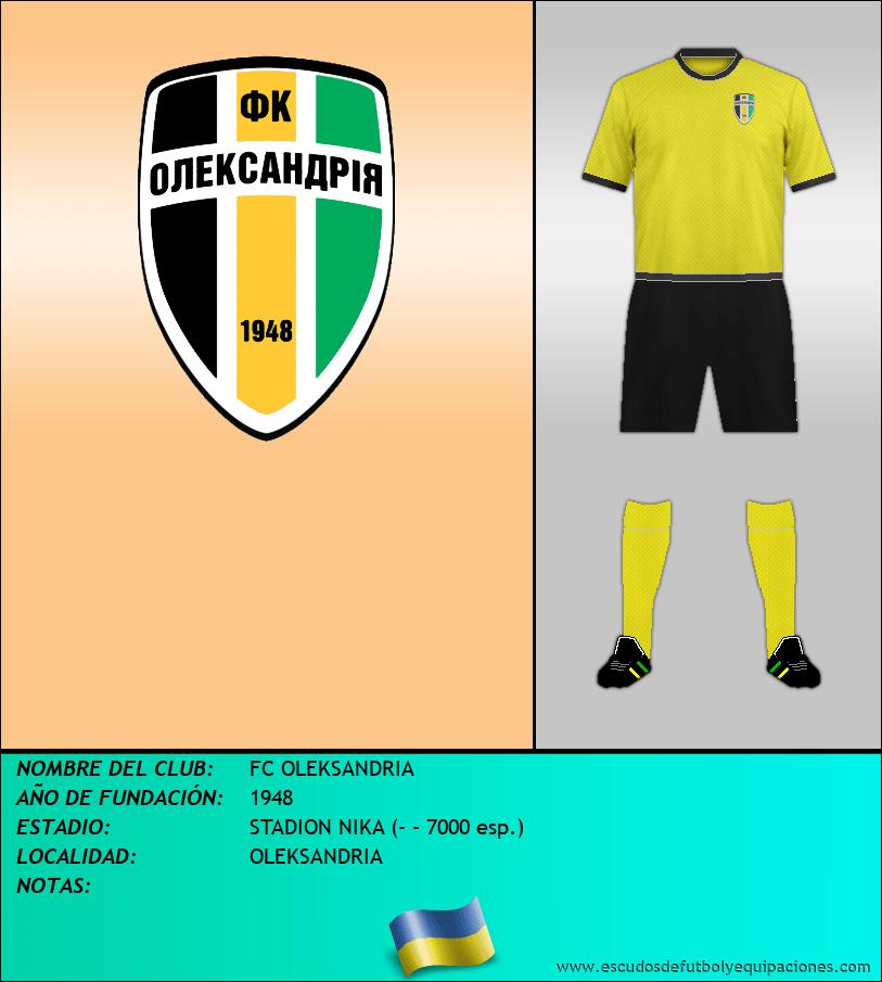 Escudo de FC OLEKSANDRIA