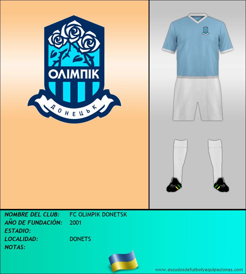 Escudo de FC OLIMPIK DONETSK