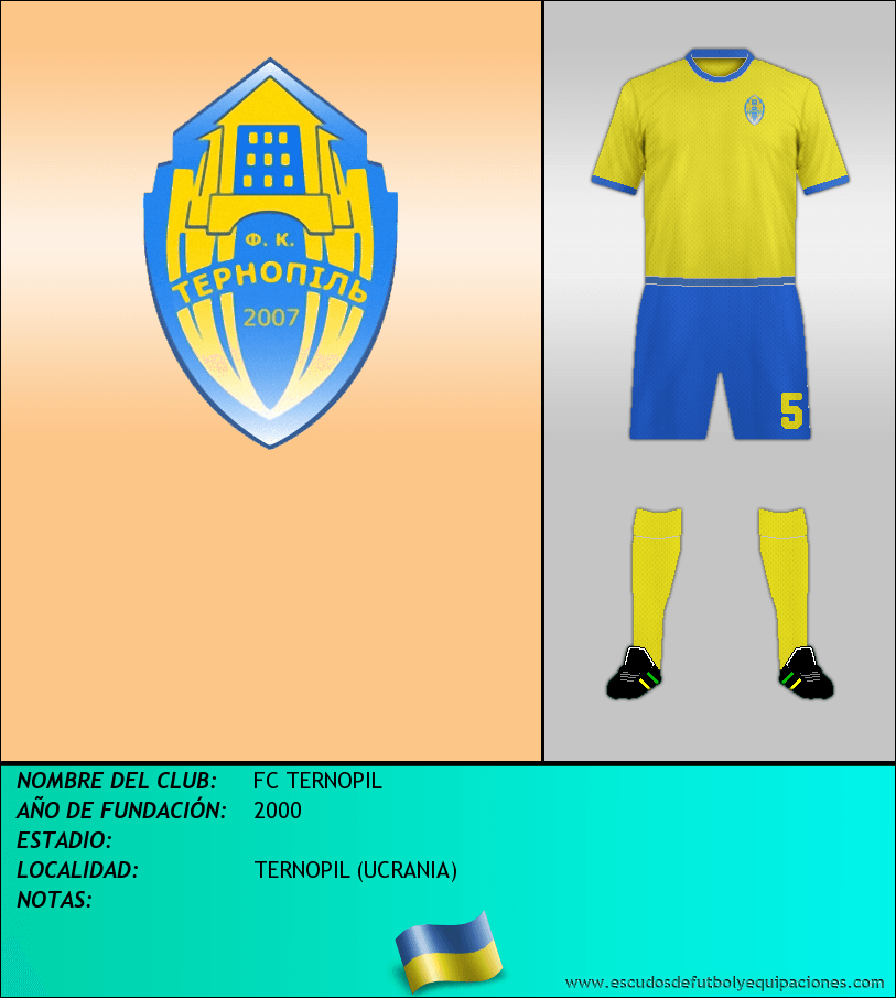 Escudo de FC TERNOPIL