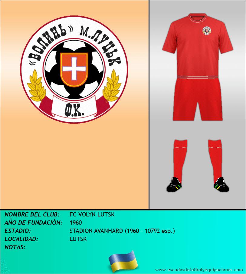 Escudo de FC VOLYN LUTSK