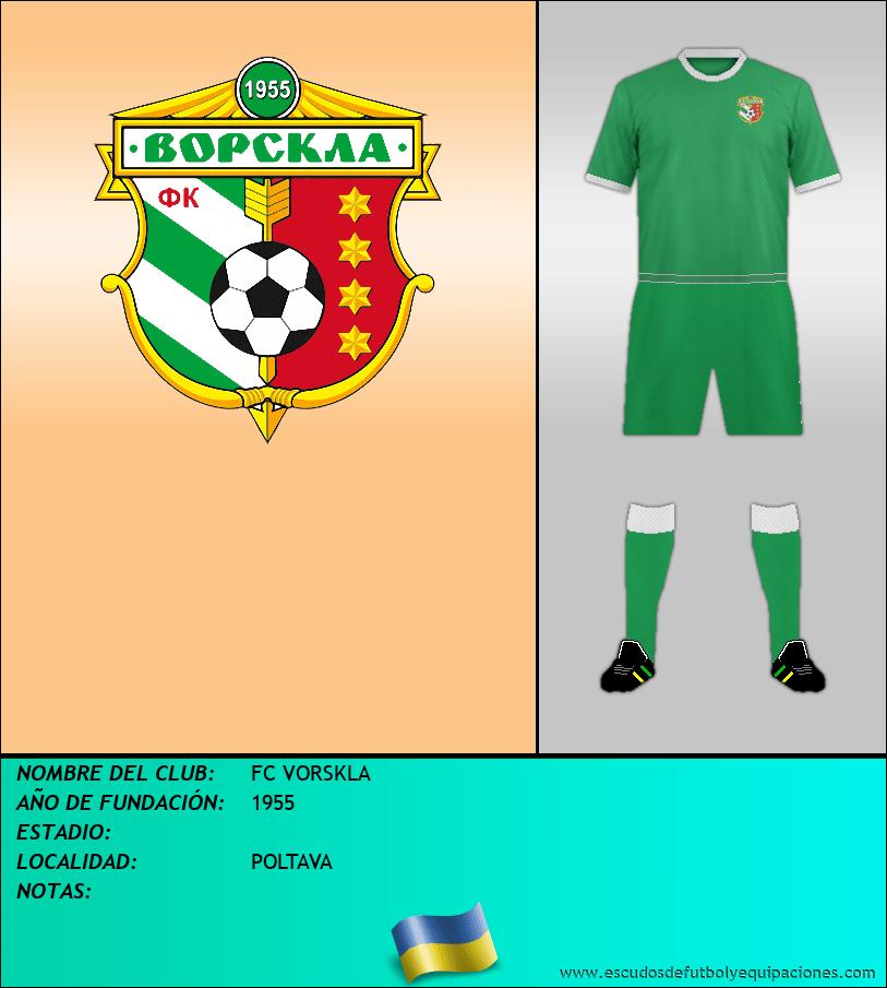 Escudo de FC VORSKLA