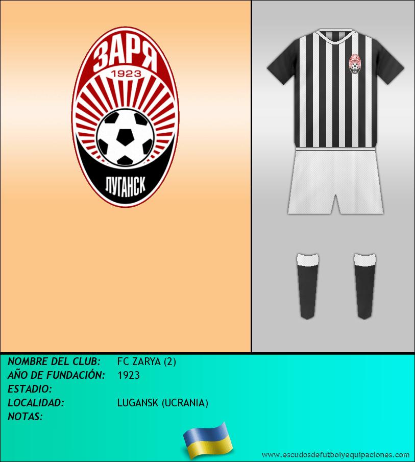 Escudo de FC ZARYA (2)