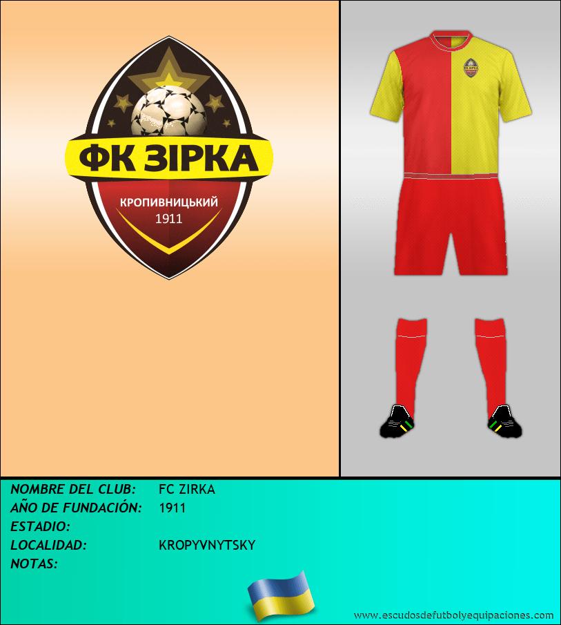 Escudo de FC ZIRKA