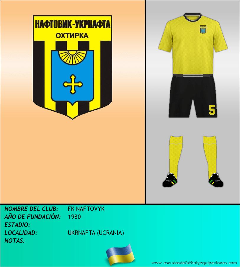 Escudo de FK NAFTOVYK