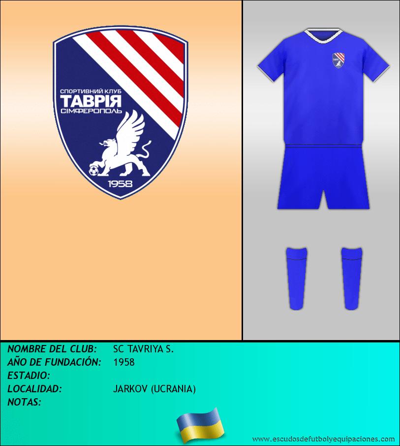 Escudo de SC TAVRIYA S.