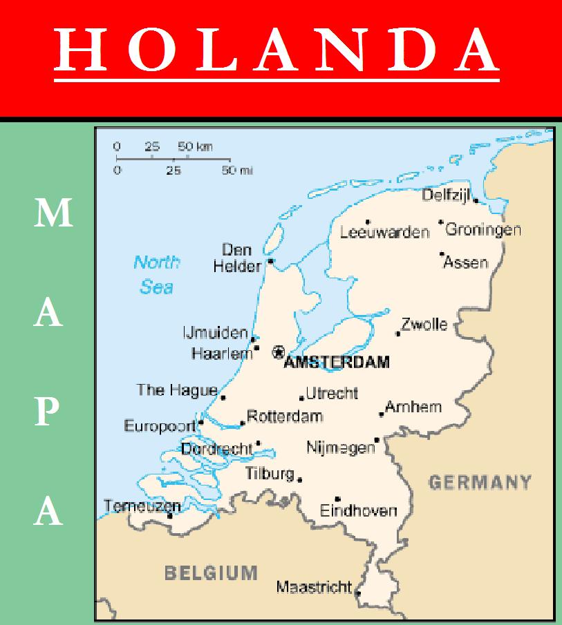 mapa de holanda Escudo de MAPA DE HOLANDA mapa de holanda